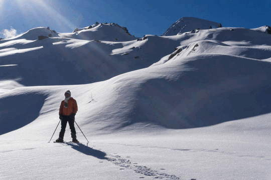 trekking by type - snowshoeing in italy