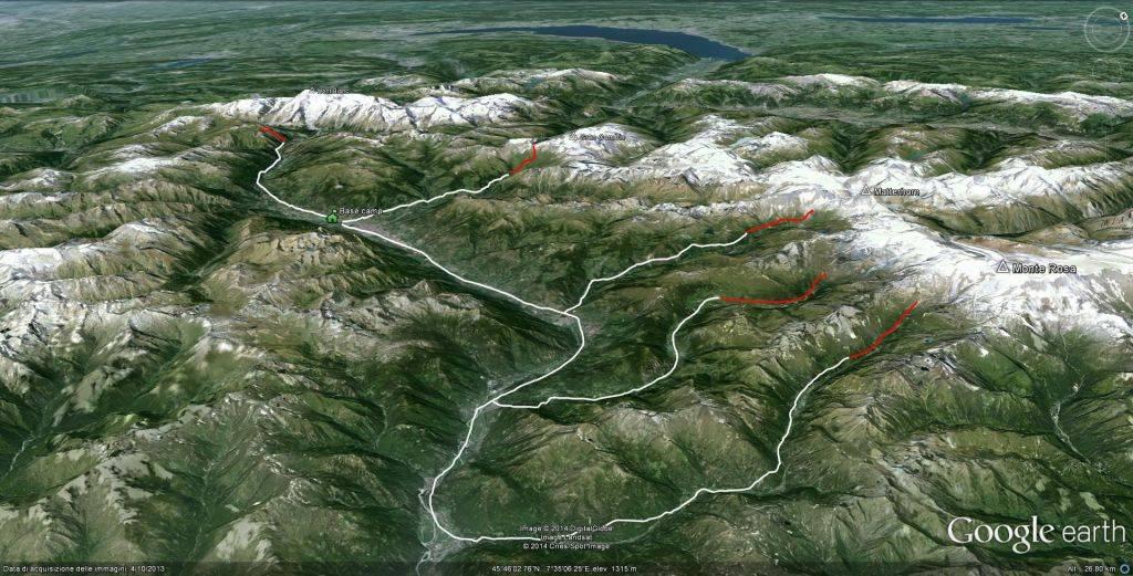 Alps giants hiking Tour