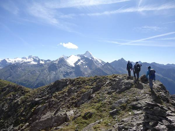 Hiking Rossa Peak in the heart of Gran Paradiso National Park 24