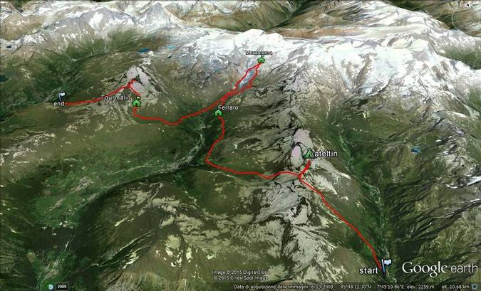 Rosa-Matterhorn-Trekking