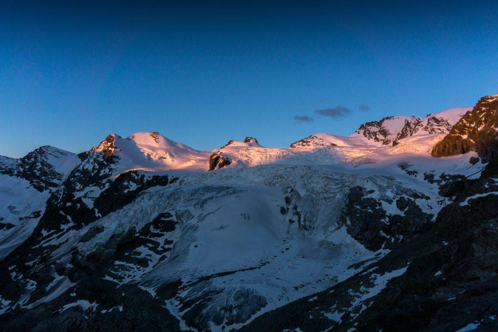 Sunrise at Gran Paradiso - Leonessa Hut