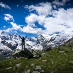 gran paradiso national park hiking
