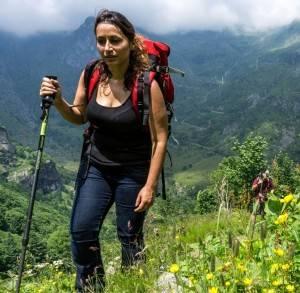 hiking italy rahele iran