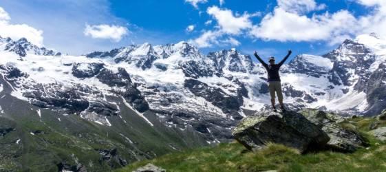 trekking alps gran paradiso hike