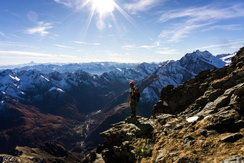 Climbing the Alps: Torre d'Ovarda