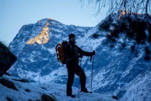 Gran Paradiso Piedmont Winter Hike