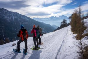 Winter Adventure in the Alps
