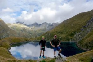 Amazing hike of Mont Glacier in Monte Avic Park