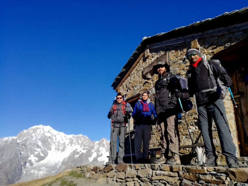 Challenging Trek in Mont Blanc 2