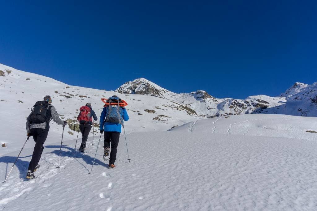 Winter Hikes in the Italian Alps