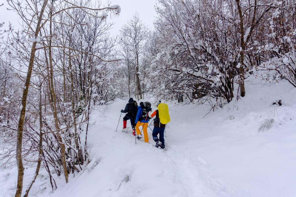 Winter Hikes in the Italian Alps 30