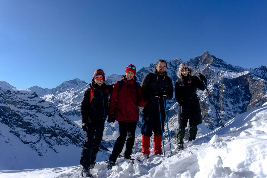 Aosta Valley Winter Hikes 127