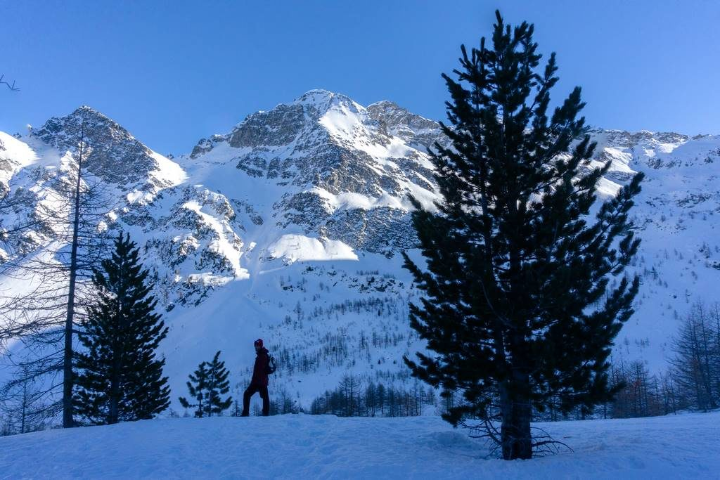Aosta Valley Winter Hikes