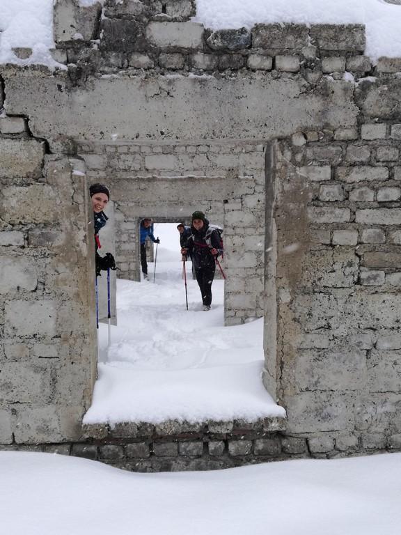 Heavy snow Day Trek from Torino 2