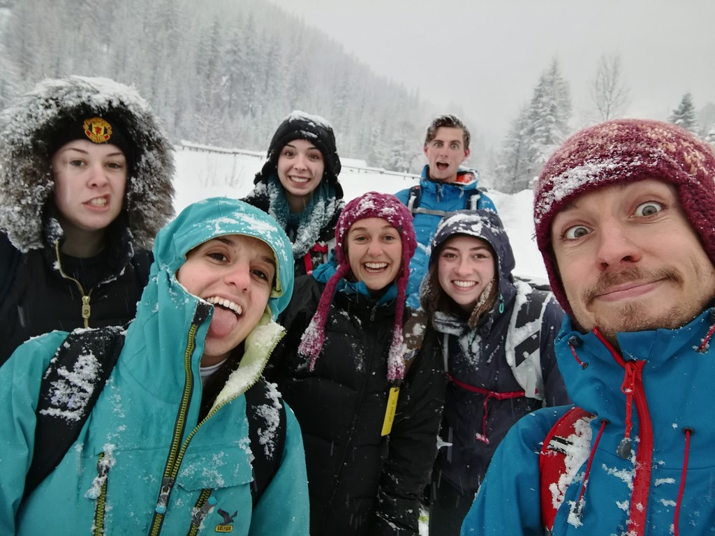 Heavy snow Day Trek from Torino 25