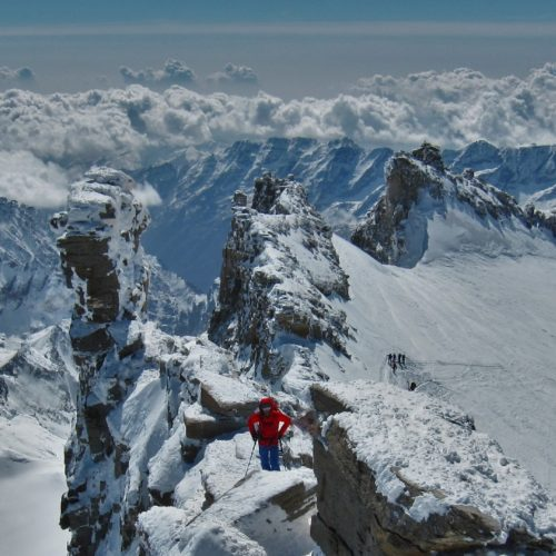 Summit Alps Gran Paradiso