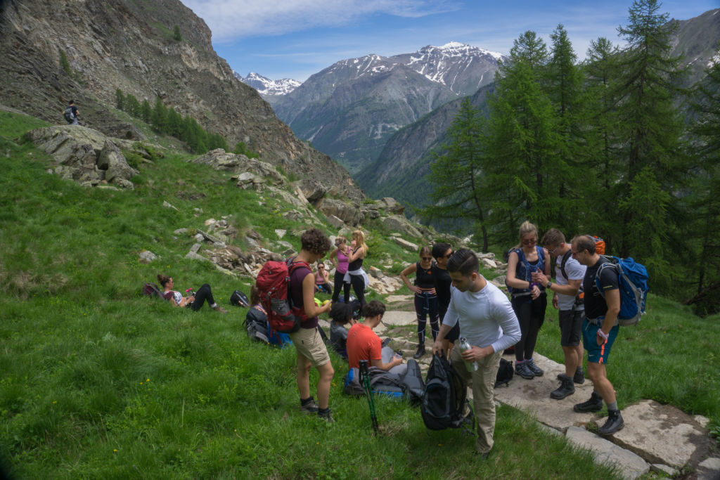 SFG Hike 2018 - Corporate Trip Hiking in the Alps 1