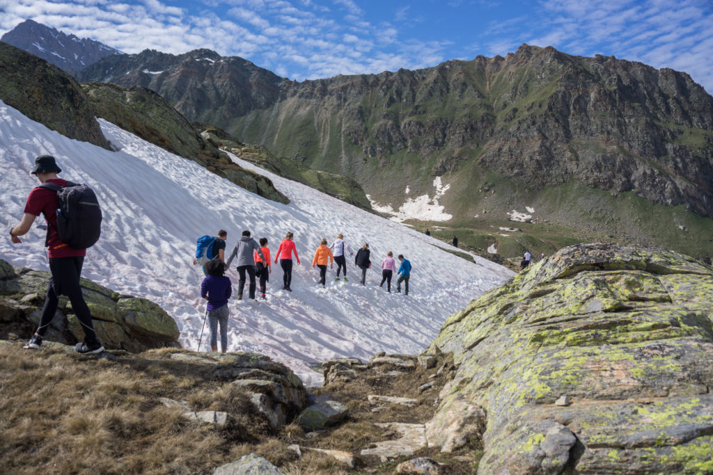 SFG Hike 2018 - Corporate Trip Hiking in the Alps