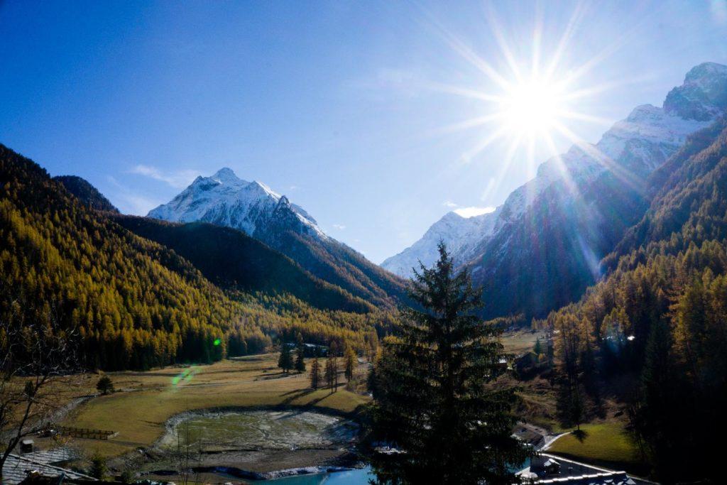 November Hiking Alps