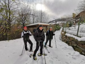 Snowshoeing in Coazze with Trekking Alps